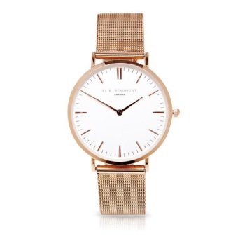 Elie Beaumont- Oxford Large - Mesh - Rose Gold