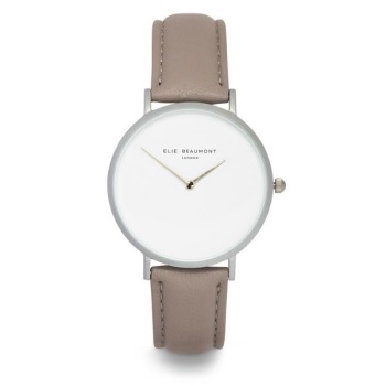 Elie Beaumont- Hoxton - Light Grey - Watch