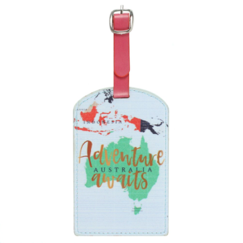 Adventure Awaits - Luggage Tag