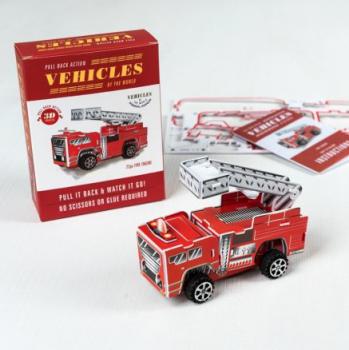 DIY Pull Back - Fire Engine