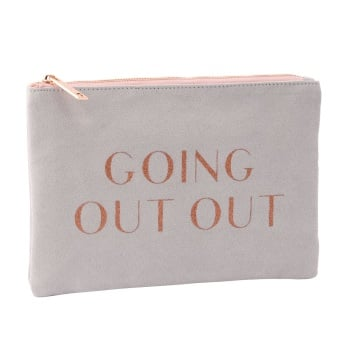 Going Out Out - Pouch Bag