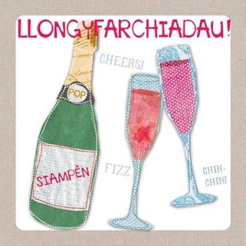 Champagne - Llongyfarchiadau