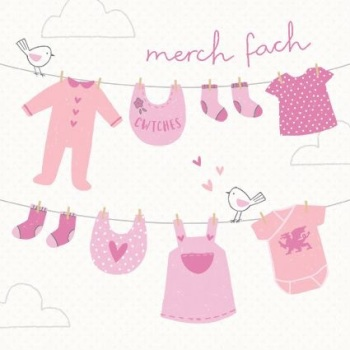 Clothes Line - Merch Fach - Card
