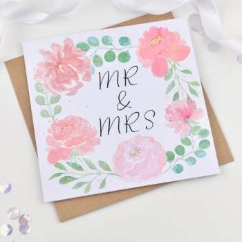Flower Ring - Mr & Mrs