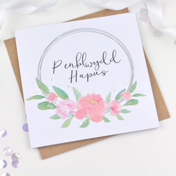 Flower Ring - Penblwydd Hapus
