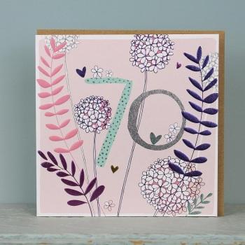Floral Foil - 70 - Card