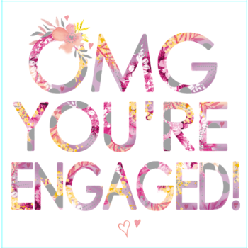 OMG You're Engaged - Card