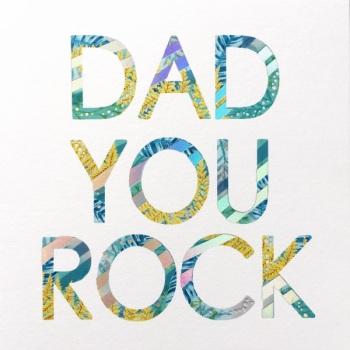 Dad You Rock - Card