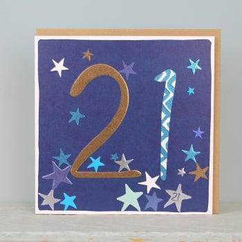 Starry Foil - 21 - Card
