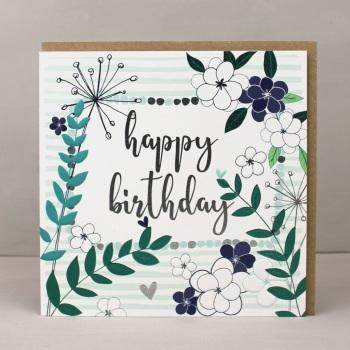 Happy Birthday Leafy - Card
