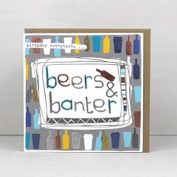 Beers & Banter- Card