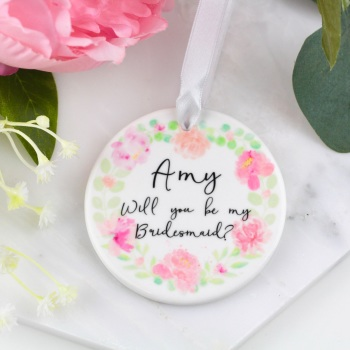 Floral Circle - Personalised Wedding - Decoration