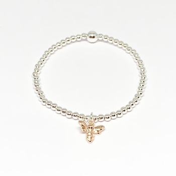 Bee Bracelet - Rose Gold