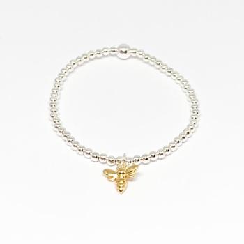 Bee Noodle Bracelet - Gold