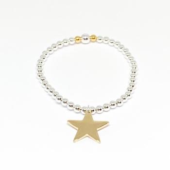 Katie Star Bracelet - Gold