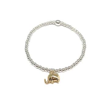 Elephant Bracelet - Gold