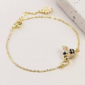 Bee Bracelet - Gold