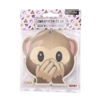 See No Evil Monkey Emoji - Air Fresheners