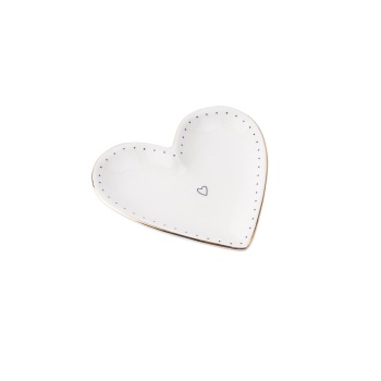 Gold Heart - Jewellery Dish/Trinket
