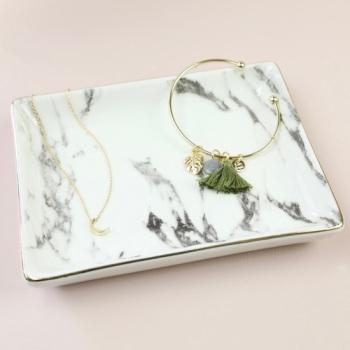 Marble - Jewellery Dish/Trinket