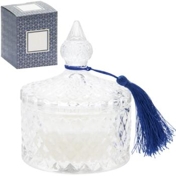 Glass Trinket - Vanilla Creme - Candle
