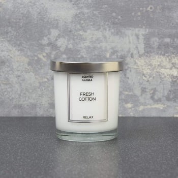 Fresh Cotton -  Small Candle