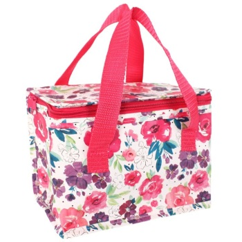 White Floral - Lunch Bag