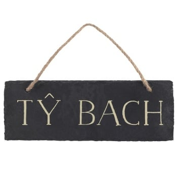 Ty Bach - Slate Decoration