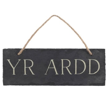 Yr Ardd - Slate Decoration