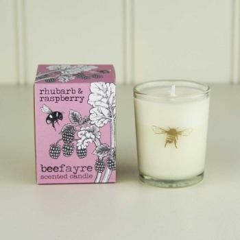 Rhubarb & Raspberry - Votive Candle