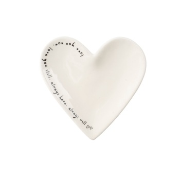 Love You Heart - Jewellery Dish/Trinket