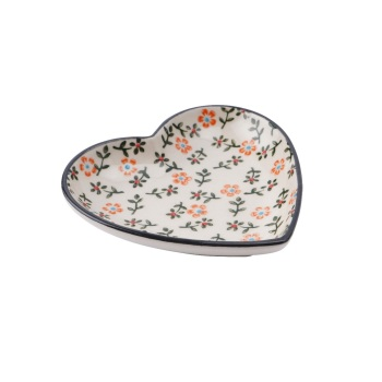 Floral Heart - Jewellery Dish/Trinket