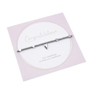 Congratulations - Heart Bracelet