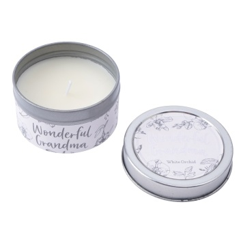 Wonderful Grandma - Tin Candle