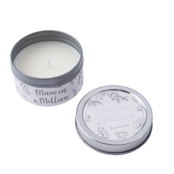 Mum in a Million - Tin Candle