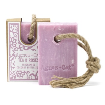 Tea & Roses - Soap on a Roap