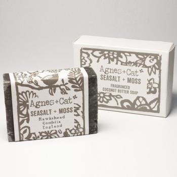 Sea Salt & Moss - Coconut Butter Soap