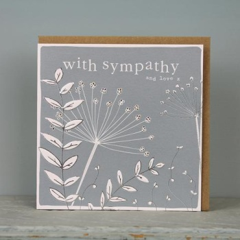 Sympathy and Love - Card