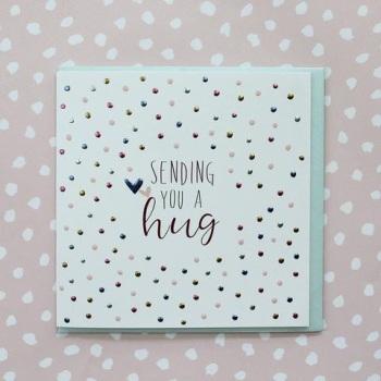 Sending you a hug - Card