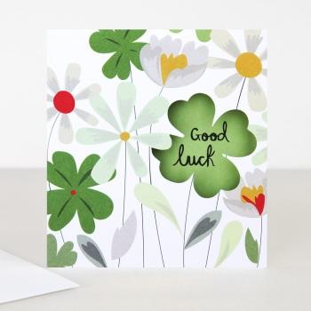 Good Luck Clover- Card