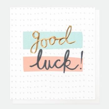 Good Luck- Card