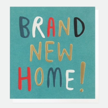 Brand New Home!- Card