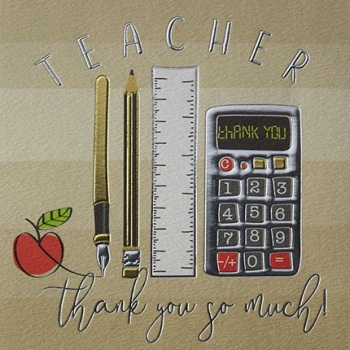 Thank You Teacher- Card