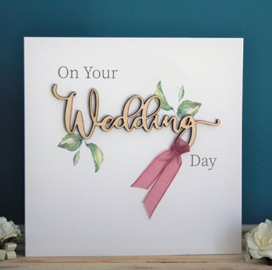 On Your Wedding Day - Card