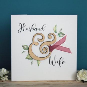 Husband & Wife - Card