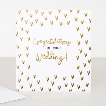Congratulations on your Wedding! - Card