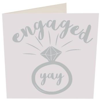 Engaged, yay- Card