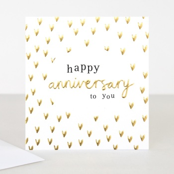 Happy Anniversary to you - Card