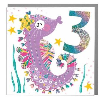 Seahorse 3 - Card