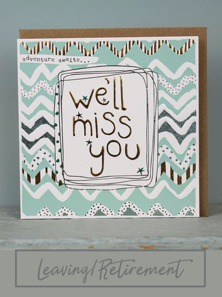 Retirement/Leaving Cards